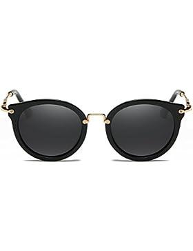 Gafas De Sol Polarizadas Hembra Gafas Retro