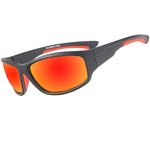 WBAHJUV400 Männer Polarisierte Angeln Sonnenbrille Fischer Camping Wandern Skibrille Fahrrad Radfahren Brille Sport Angeln Brillen