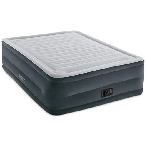 Festnight- Luftbett Comfort Plush High Rise Queen Aufblasbare Matratze Aufblasbares Bett Air Mattress mit Pumpe 64418