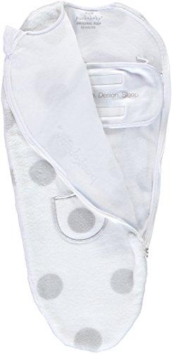 Puckababy® PIEP - Winter Pucksack Baby mit Bauchband - 0/3 M | Teddy | Pucksäcke | Swaddle