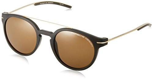 Occhiali da sole porsche design p'8644 dark brown gold/brown unisex