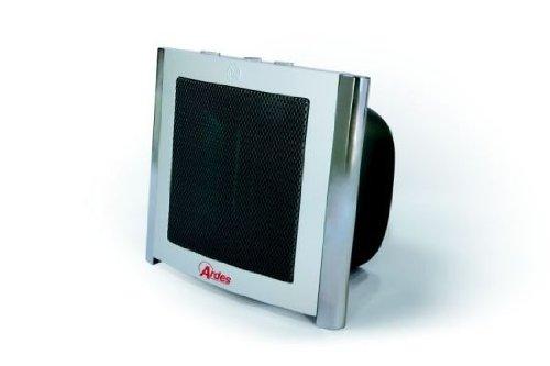 Termoventilatore Ardes 485 da 1500W con sistema di riscaldamento ceramico PTC Stufetta elettrica con