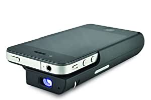 Pocket projector iphone projector for iphone 4 4s ipod for Best portable projector for iphone