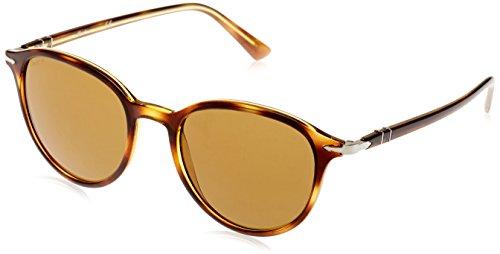 Persol Unisex-Erwachsene 0Po3169S 104357 50 Sonnenbrille, Braun (Havana/Polarbrown),