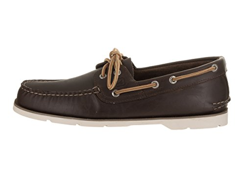 Sperry Top-Sider-Scarpe da barca LEEWARD Chambray Uomo Dark Brown
