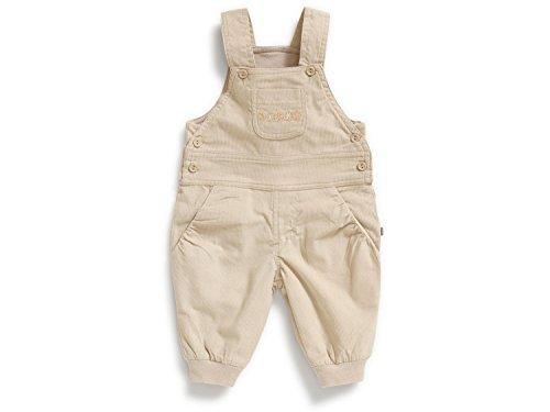 JACKY Baby Hose Latzhose Cordhose Unisex Beige (50)