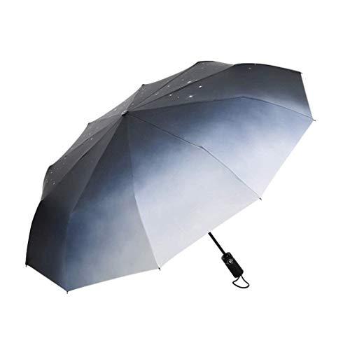 KISlink Paraguas automático de 10 Huesos