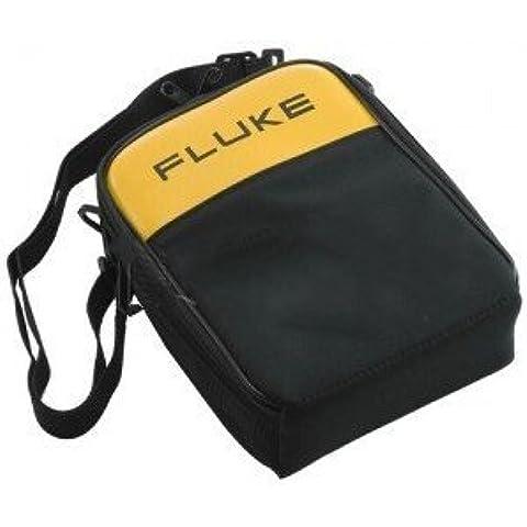 FLUKE C280 cremallera suave maletín con correa para el hombro para 287/289 Multímetros digitales-2PK