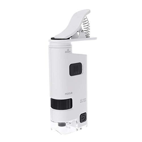 Febelle 80-120X Microscopio Universal Clip