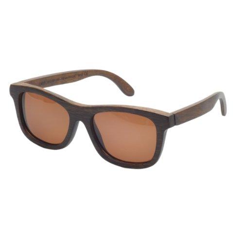 Hechas a Mano Moda Madera Marcos polarizadas gafas de sol de bambú