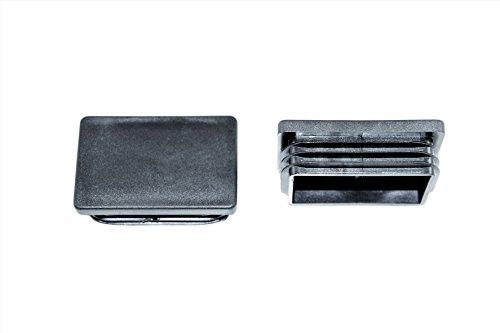 SN Rohrstopfen Fußkappe Pfostenkappe 60x40mm (10 Stück)