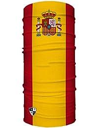 SA Face Shield Bandana Máscaras Spain Flag