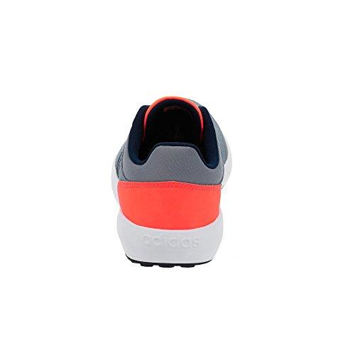 adidas Cloudfoam Race K, Chaussures de Tennis Mixte Enfant Gris (Gris/maruni/narsol)