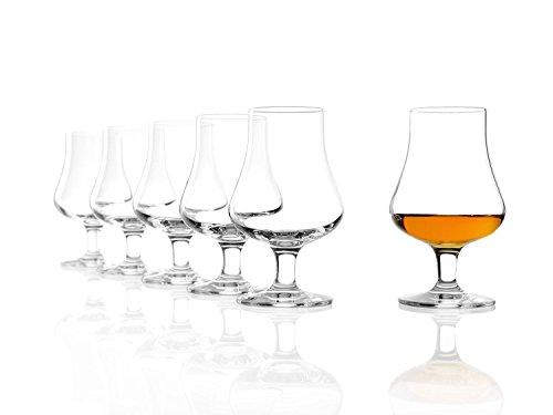 Verre à whisky Stölzle Lausitz The Nosing Glass de 194 ml, lot de 6 verres, compatible lave-vaisselle, verre en cristal de qualité supérieure