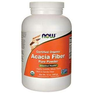Now Foods Acacia Fiber, 340g Powder