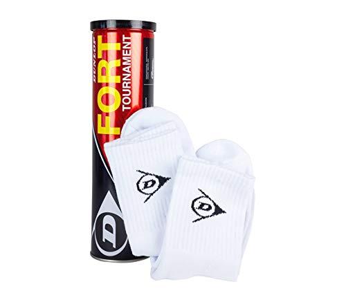 Dunlop Sport GmbH D TB Fort Torn Sock - Tournament Tennisbälle
