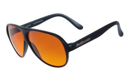 BluBlocker Offizielle Nylonsonnenbrille Schwarz Groß