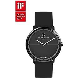 NOERDEN LIFE2 - Negro - Silicona - Reloj híbrido Inteligente - 38 mm