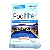 Fibalon Pool - Materiale del filtro altamente efficace per le sabbiere in un sacchetto da 350 g.