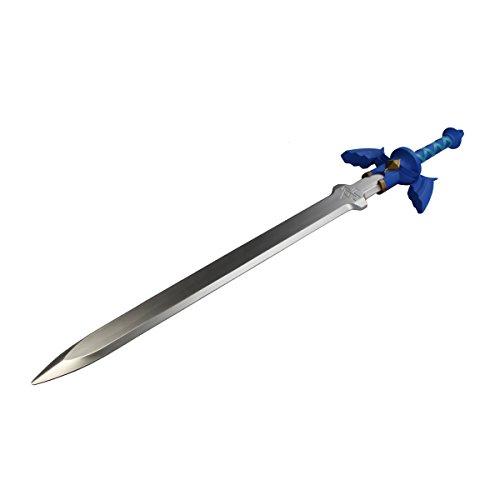 Links Master Schwert als Polsterwaffe aus Zelda in blau