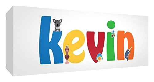 Little Helper de Kevin 515blk 15de Diamant poli Baby andenken/jeton, personnalisé avec le nom jeunes, KEVIN, petit, 5 x 15 x 2 cm