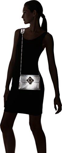 Lollipops - Alesia Shoulder, Borse a spalla Donna Argento (Silver)