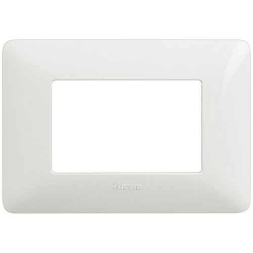 BTicino Matix AM4803BBN Placca 3 Moduli, Bianco
