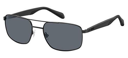 Fossil Herren Fos 2088/S Sonnenbrille, Mehrfarbig (Mtt Black), 59