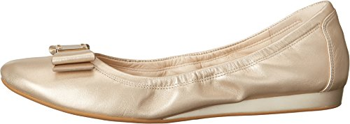 Cole Haan Tali Bow Ballet Flat Soft Gold