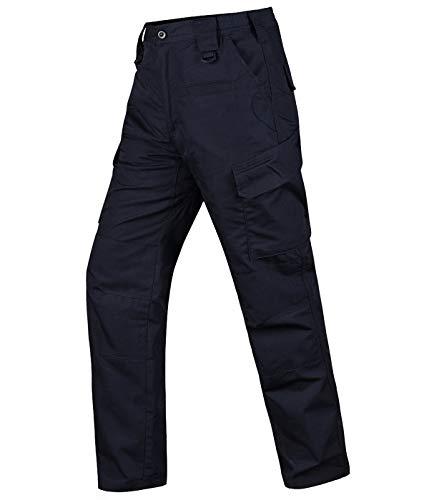 HARD LAND Pantalones Tácticos Impermeables Hombre Ripstop Pantalones de Trabajo Cargo con...