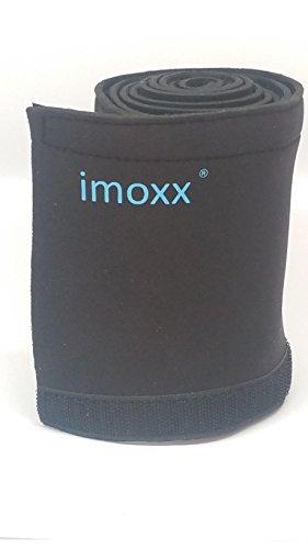 Imoxx – Cache câbles flexible et ajustable – étui de rangement pour câbles de TV / Ordinateur / Audio…Largeur 13.5 cm longueur 150 cm – noir