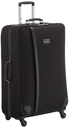 Calvin Klein  Trolley para portátiles, 83 cm, 35 L, Negro