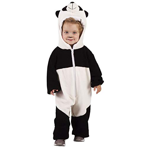Rubies - Disfraz de oso panda para niño, talla bebé 1-2 años (Rubies S8427-T)