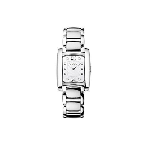 Ebel Brasilia Women 'S Watch 23mm Silver Steel Bracelet & Case 9976m22-98500