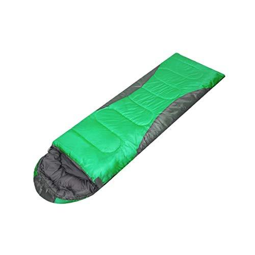Sac de couchage LCSHAN Polyester Adulte Intérieur Extérieur Saisons Chaud Épaississement du Camping Voyage