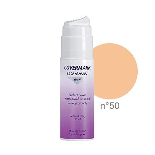 Covermark Leg Magic Fluid Correttore Corpo & Gambe (SPF 40, Tono 50) - 75 ml.