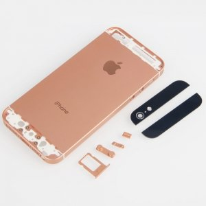 iphone 5s rose gold protective back cover w logo for iphone 5 gold 4978