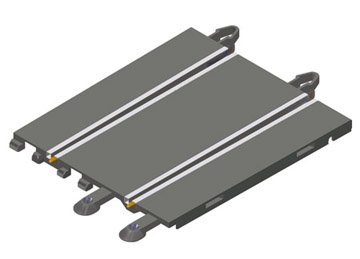 Scalextric Original - Pista de compatibilidad entre Scalextric Original y Digital System (2 unidades) (A10015X200) por Fábrica de Juguetes