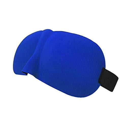 Preisvergleich Produktbild Schlafmaske Schlafmaske für Männer u. Frauen,  3D umrissene bequeme ultra weiche schlafende Augen-Maske u. Augenbinde mit dem justierbaren Bügel,  groß für Reise / Nap / Nacht schläft Schlafmaske Damen