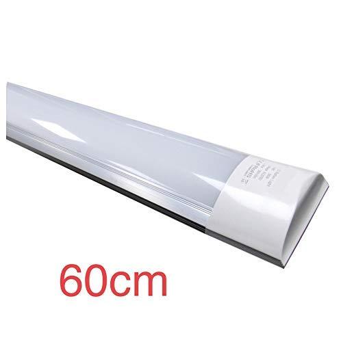 Led Atomant Pantalla 60 cm, 20 W, Color Blanco Frio 6500K. Luminaria Integrada Equivalente a 2 Tubos Fluorescentes. 1700 Lumenes Reales. Regleta LED