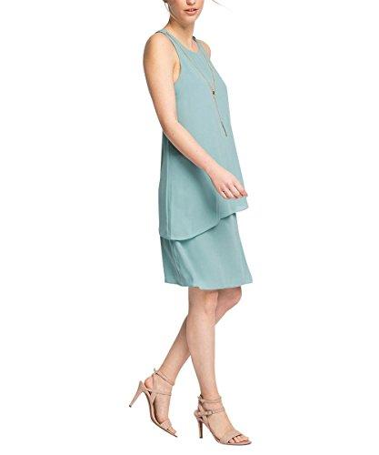 ESPRIT Collection Damen Kleid 056eo1e007mit Kette Grün DUSTY GREEN ...