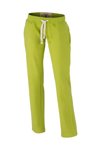 James & Nicholson - Pantalons - Maternité Femme Vert (lime-green)