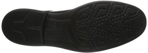 Geox U Dublin A, Scarpe Stringate Uomo Nero (Black C9999)
