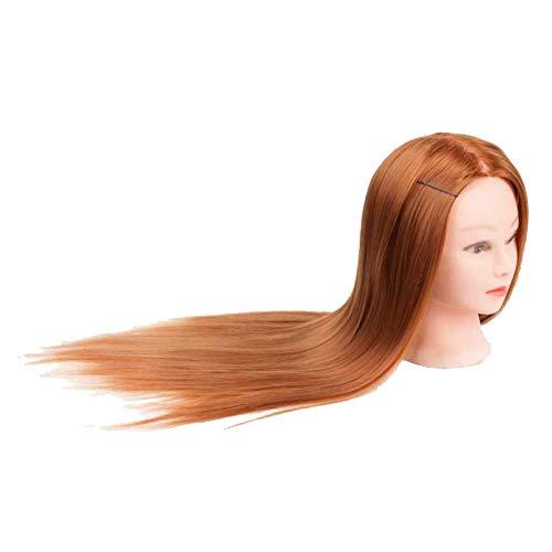 Bjyg testa di addestramento testa di manichino capelli maniqui parrucchiere teste di bambole maniquies formazione educativa per parrucchieri
