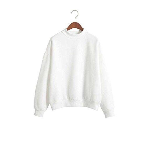 Minzhi Cappotto maglione con cappuccio da donna Cappotto allentato Cappotto casual Autunno Inverno Collo tondo Caramello tinta unita bianca