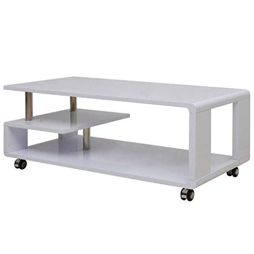 Tavolino Da Salotto Design.Tavolino Da Caffe Bianco Lucido Tavolino Salotto Tavolino Da Salotto