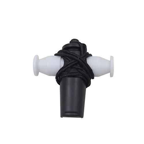 SUPVOX Erwachsene Kinder Samba Whistle ABS Whistle Ausrüstung für Orff Lehrmethode (schwarz)