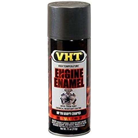 Vernice Smalto Spray VHT Nera Lucida x Motore Cilindri Carter Alte Temperature