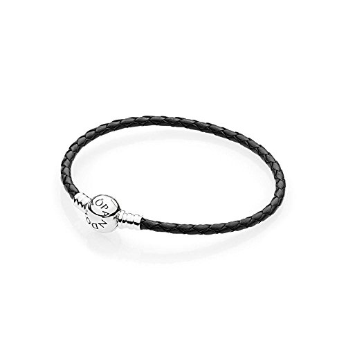 Pandora braccialetto intrecciato donna argento - 590745cbk-s3