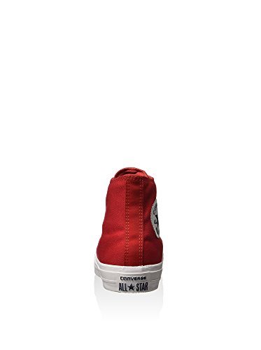 Converse Chuck Taylor All Star Ii C150148, Sneakers Hautes Mixte Adulte Red/White